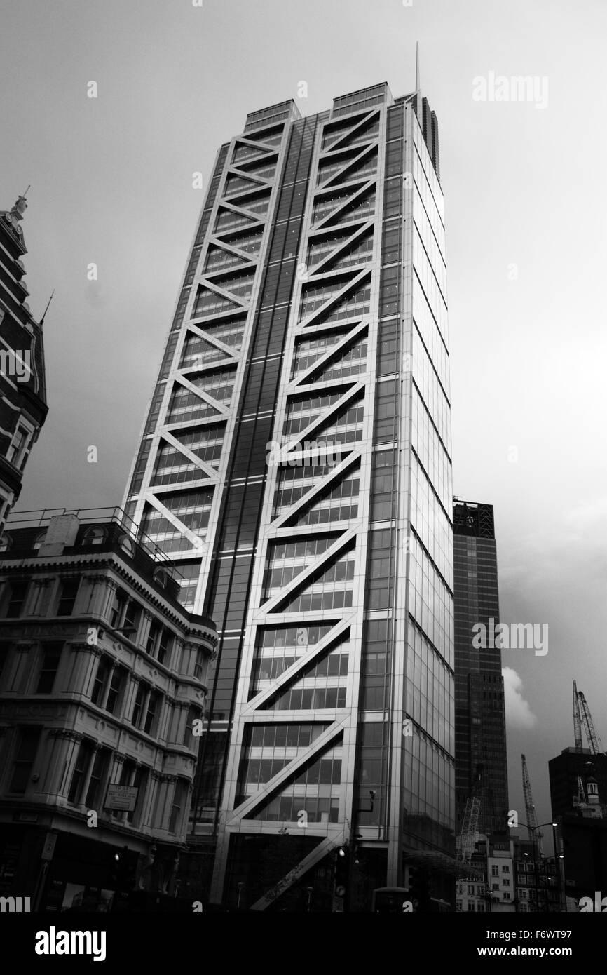 Heron Tower at 110 Bishopsgate, London, England, UK, by Uwe Deffner - Stock Image