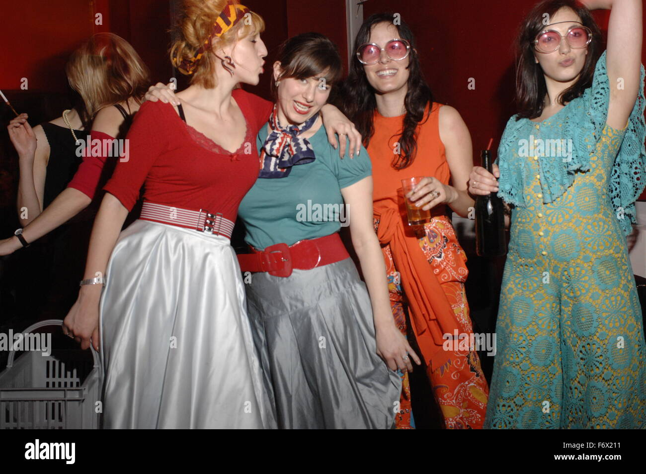 Club night 'Warped'  at The Mission Room 26 Exmouth Market London EC1R 4QE Dress code: Come from an era - Stock Image