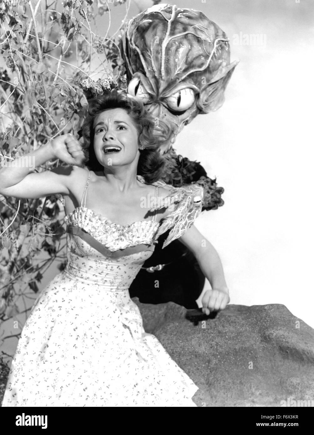 INVASION OF THE SAUCER MEN 1957 Malibu Productions film with Gloria Castillo - Stock Image