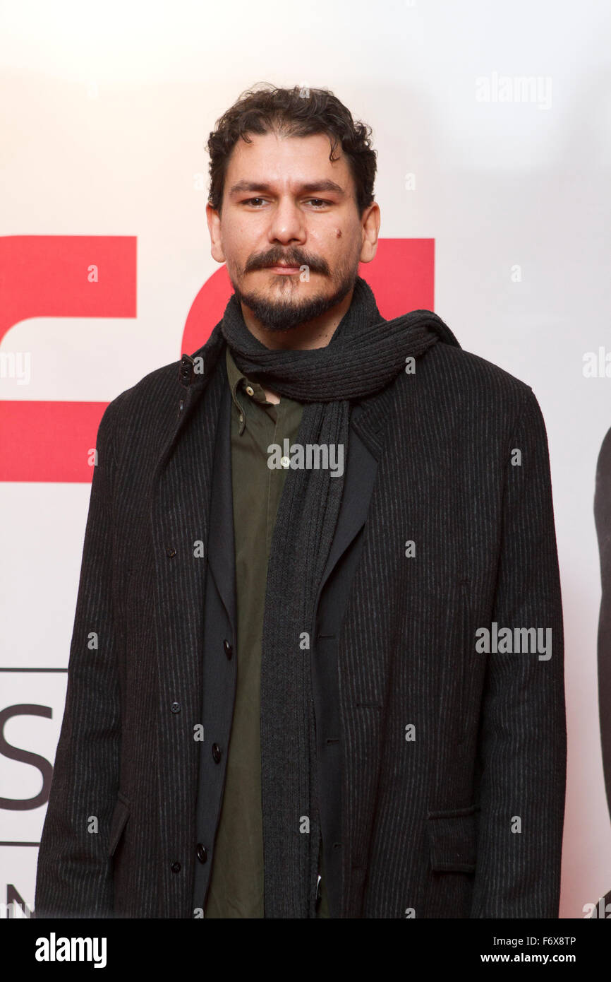 Torino, Italy. 20th November 2015. Marco Cazzato on red carpet during first day of 33rd Torino Film Festival. - Stock Image