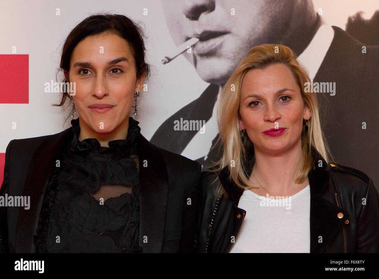 Torino, Italy. 20th November 2015. British film director Sarah Gavron (left) with producer Faye Ward (right) on - Stock Image