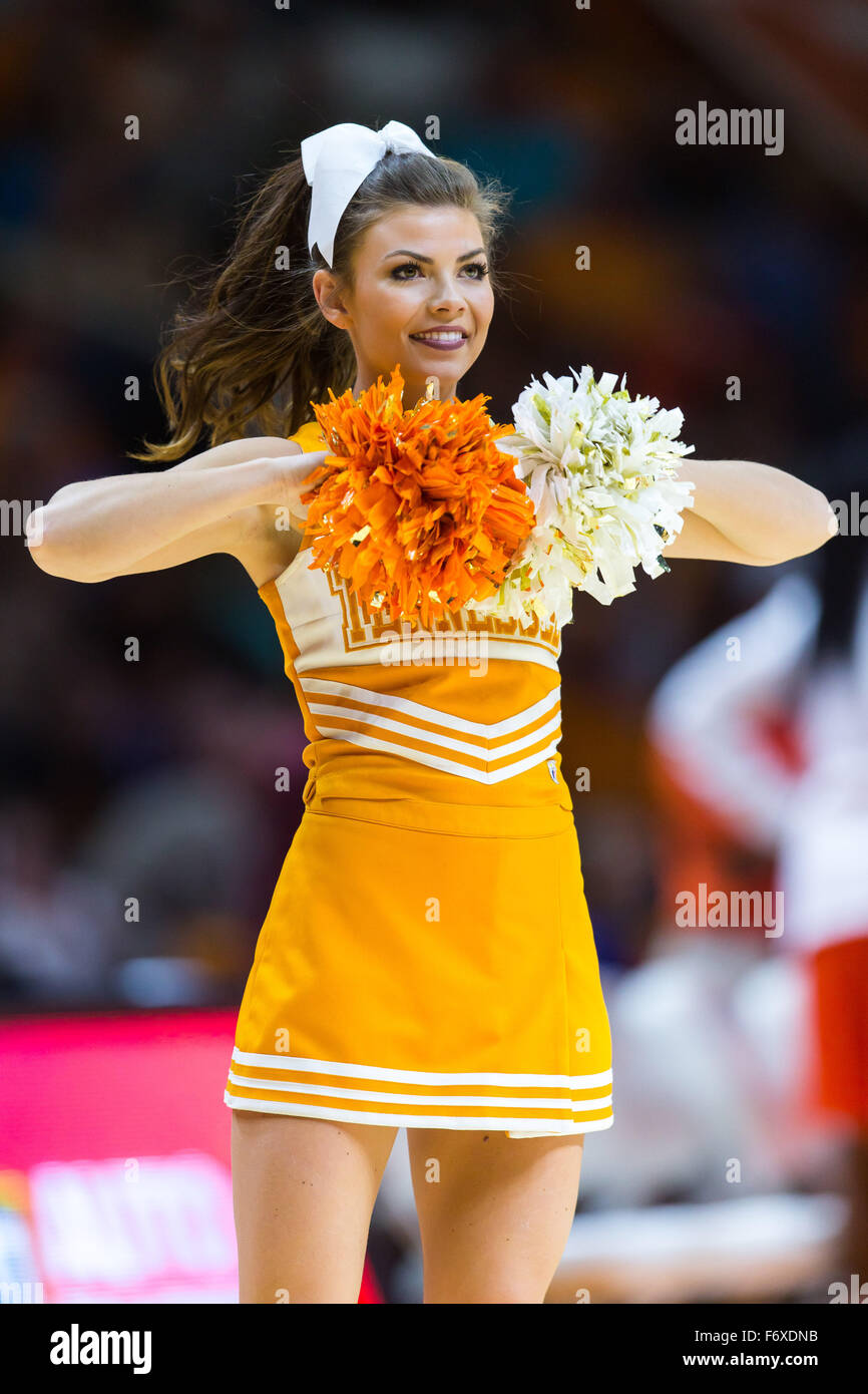 November 20 2015 Tennessee Lady Volunteers Cheerleader