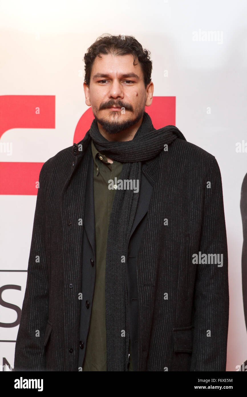 Turin, Italy. 20th Nov, 2015. Torino, Italy. 20th November 2015. Marco Cazzato on red carpet during first day of - Stock Image
