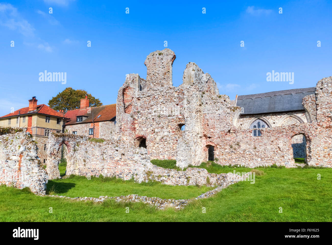 Leiston Abbey, Leiston, Suffolk, England, UK - Stock Image