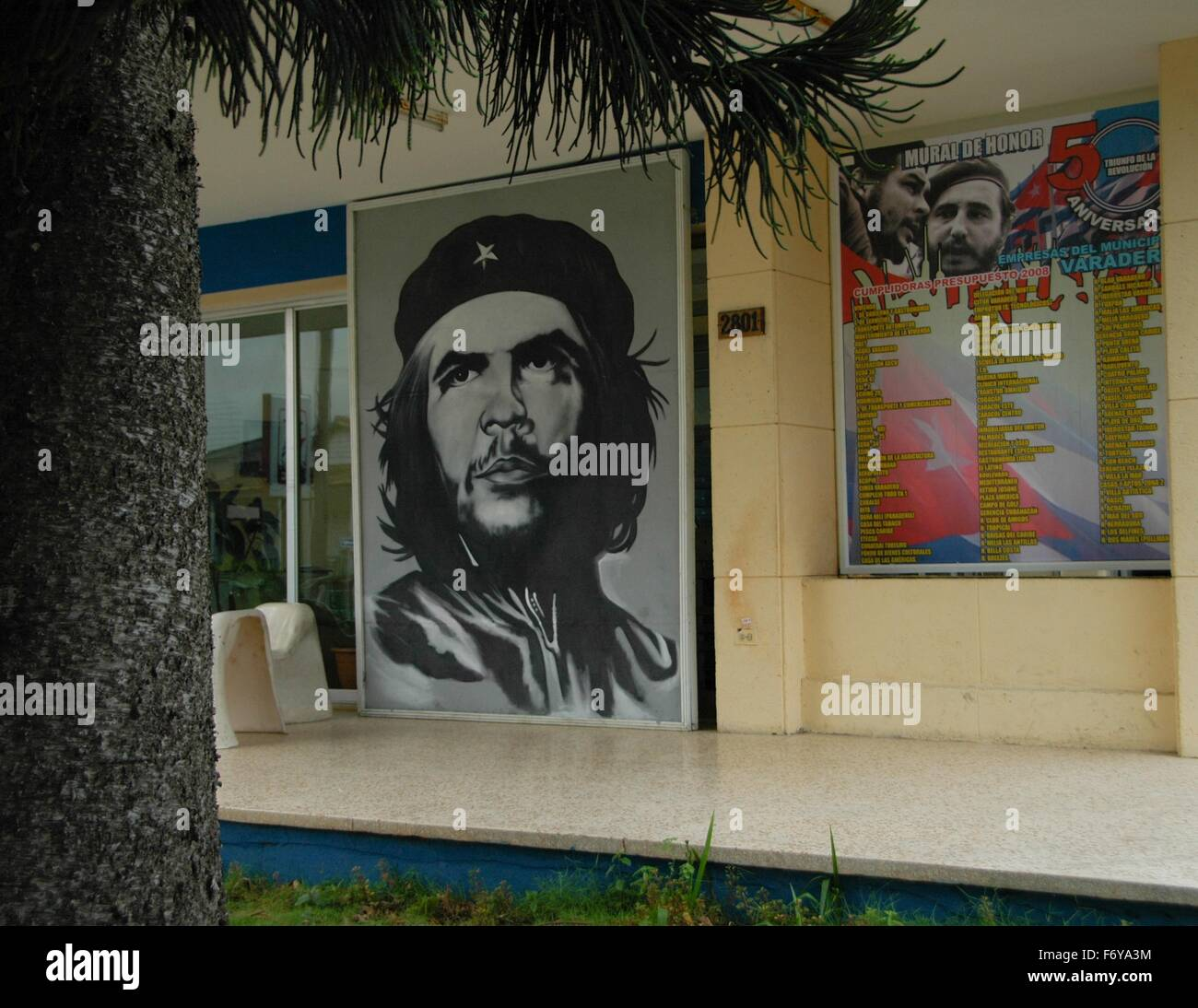 Images of Che Guevara are seen throughout Cuba - Stock Image