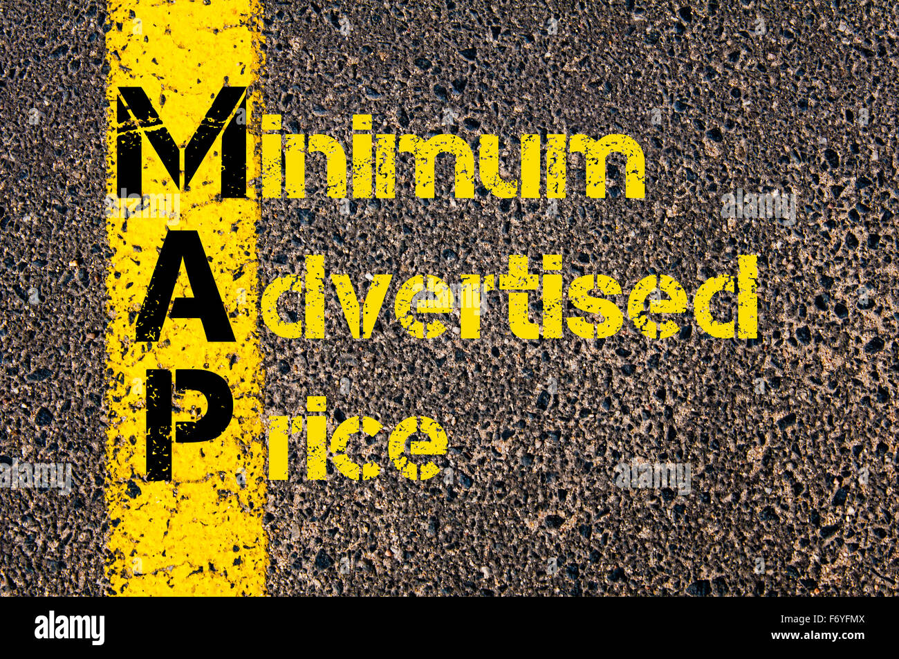Concept Image Of Business Acronym MAP As Minimum Advertised Price - Map minimum advertised price