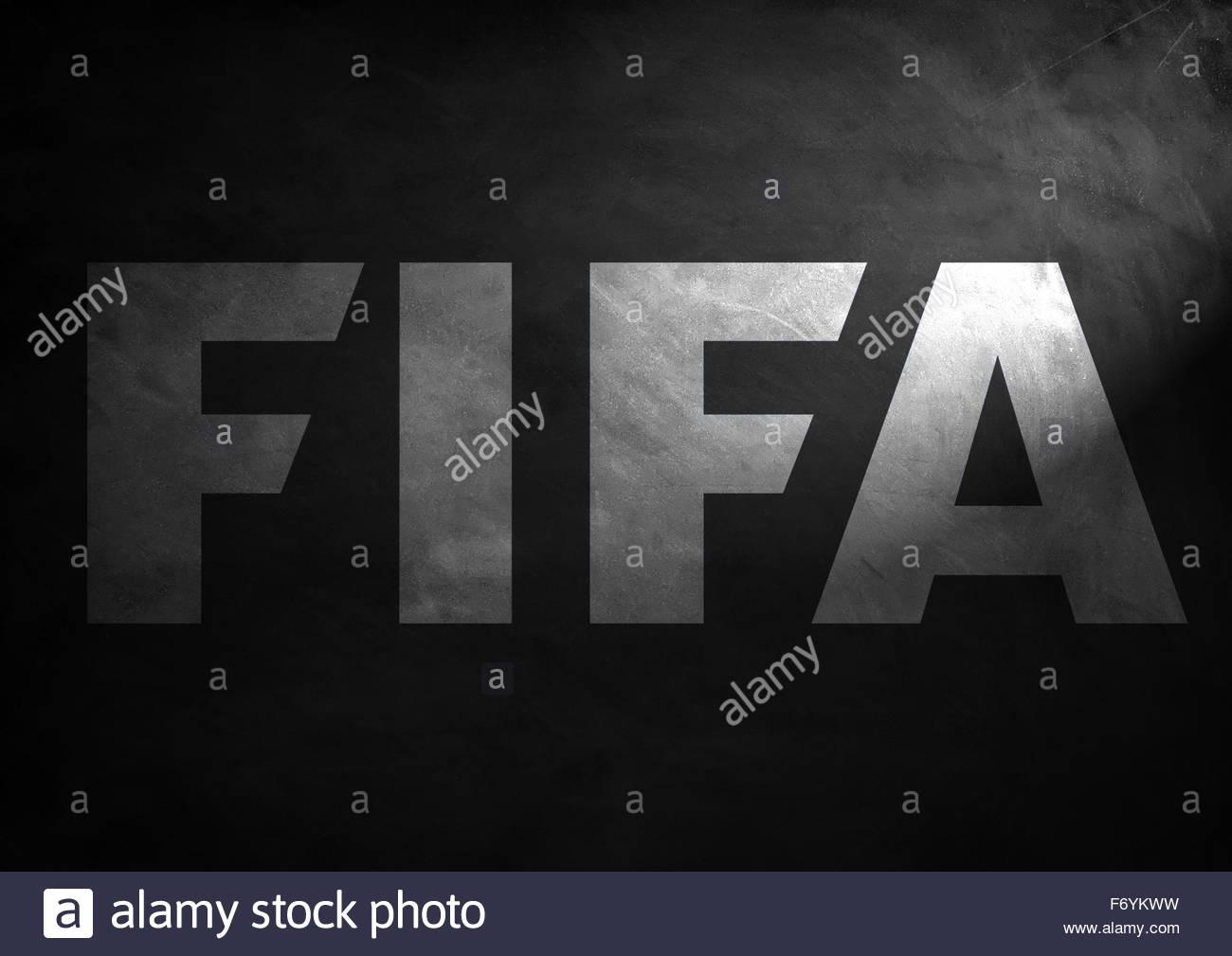 FIFA logo icon - Stock Image