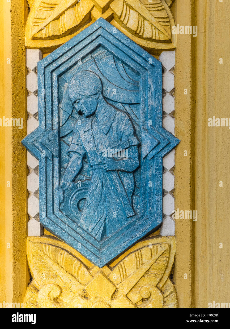Bas Relief In Art Deco Style Stock Photos Amp Bas Relief In
