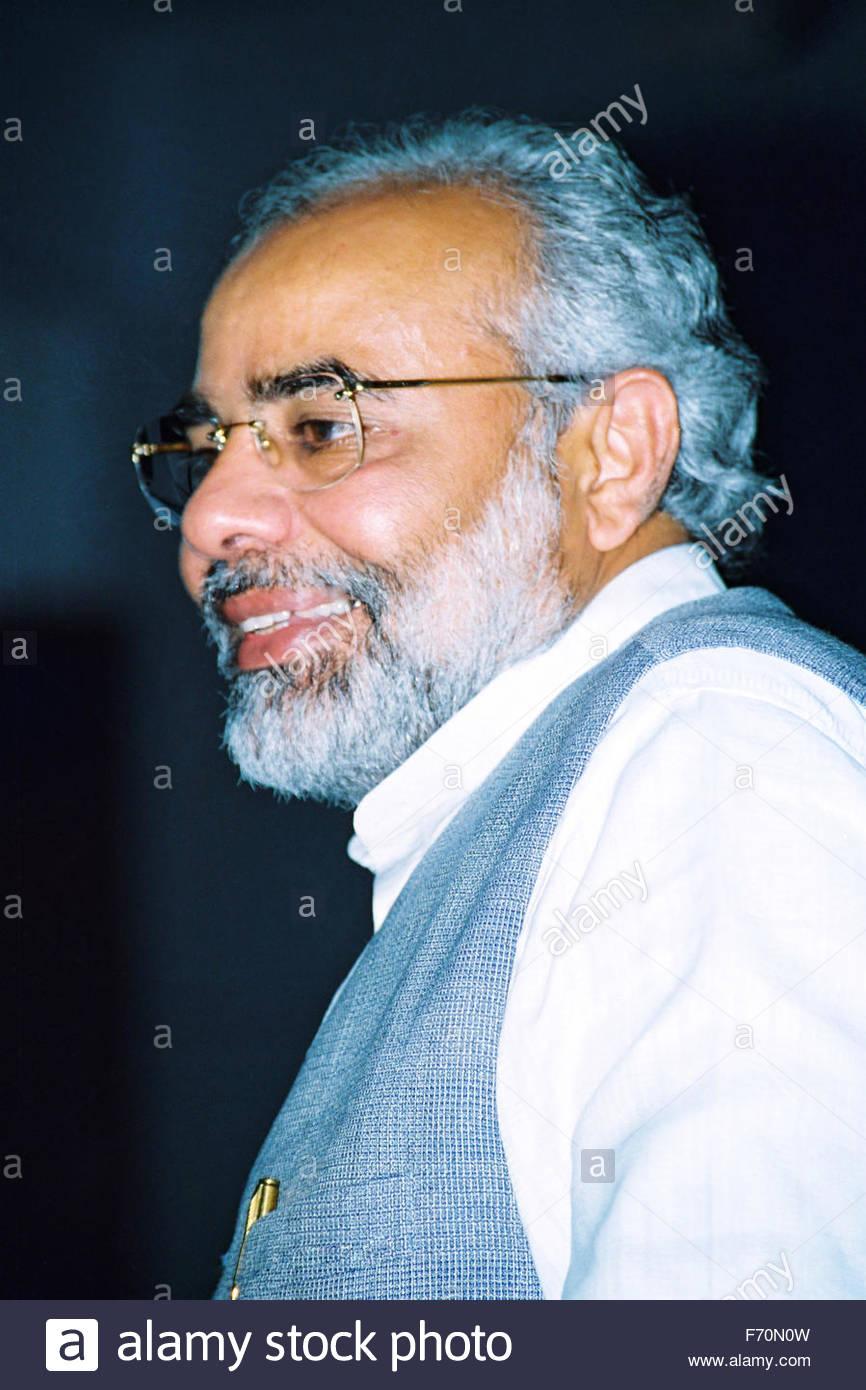 15th prime minister of india narendra modi, india, asia - Stock Image