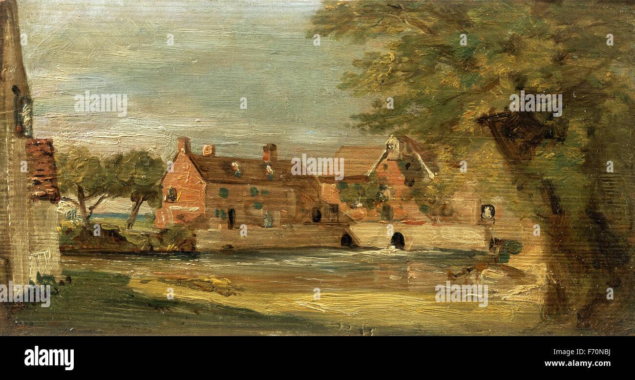 John Constable - Flatford Mill Stock Photo