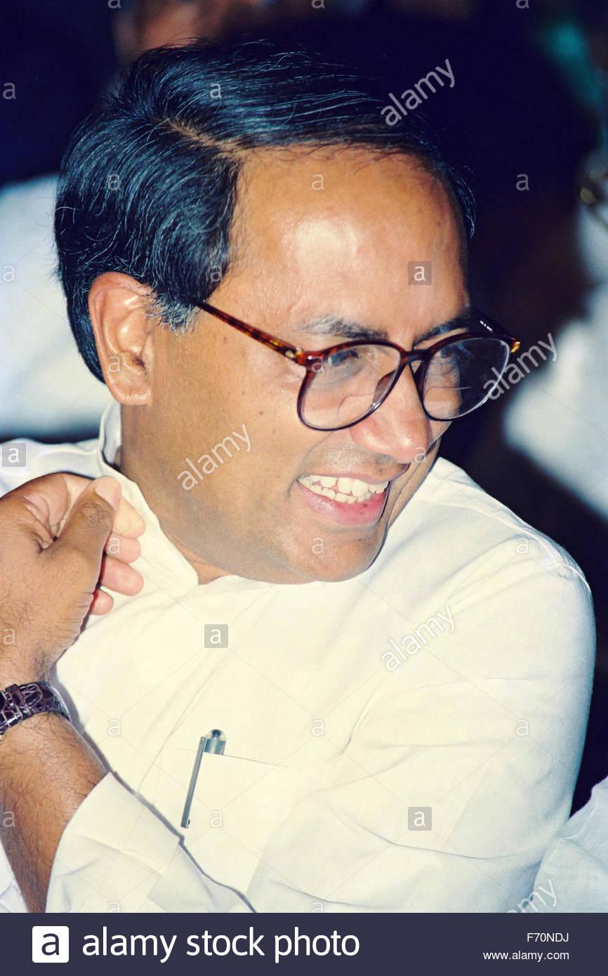 Indian politician and member of parliament, digvijaya singh, india, asia - Stock Image