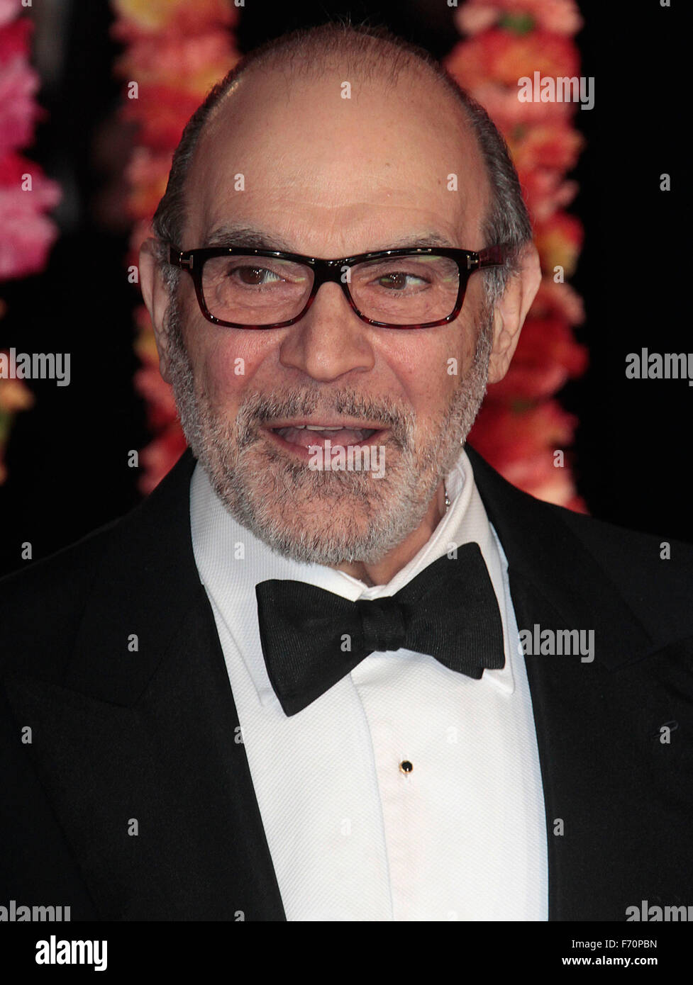 Feb 17, 2015 - London, England, UK - David Suchet at The Royal Film Performance: 'The Second Best Exotic Marigold - Stock Image