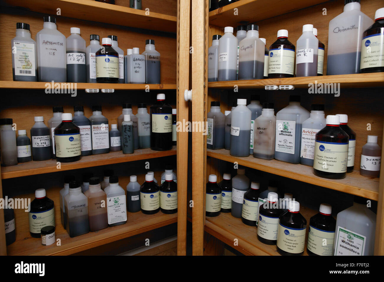 Alternative medicine store, UK - Stock Image