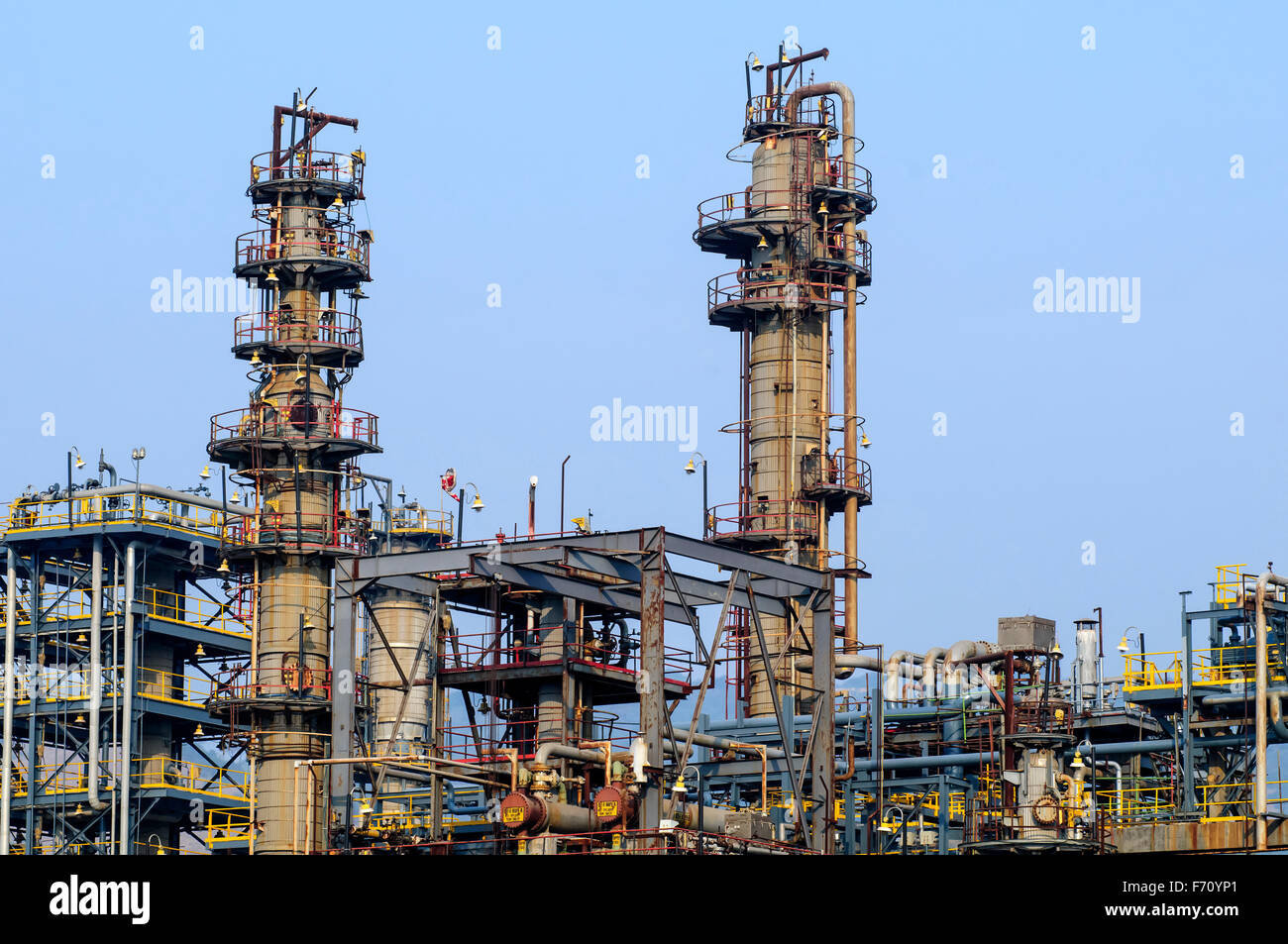 Oil refinery, visakhapatnam, andhra pradesh, india, asia
