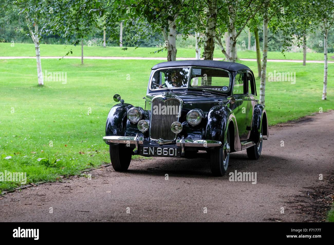 Classic Riley Motor car - Stock Image