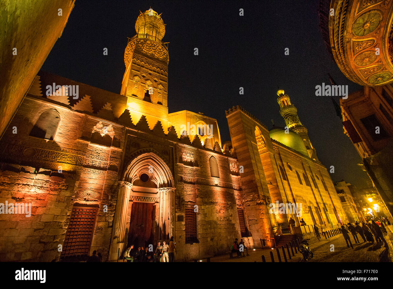 Egypt, Ancient City, Cairo, El Moaz Street. - Stock Image