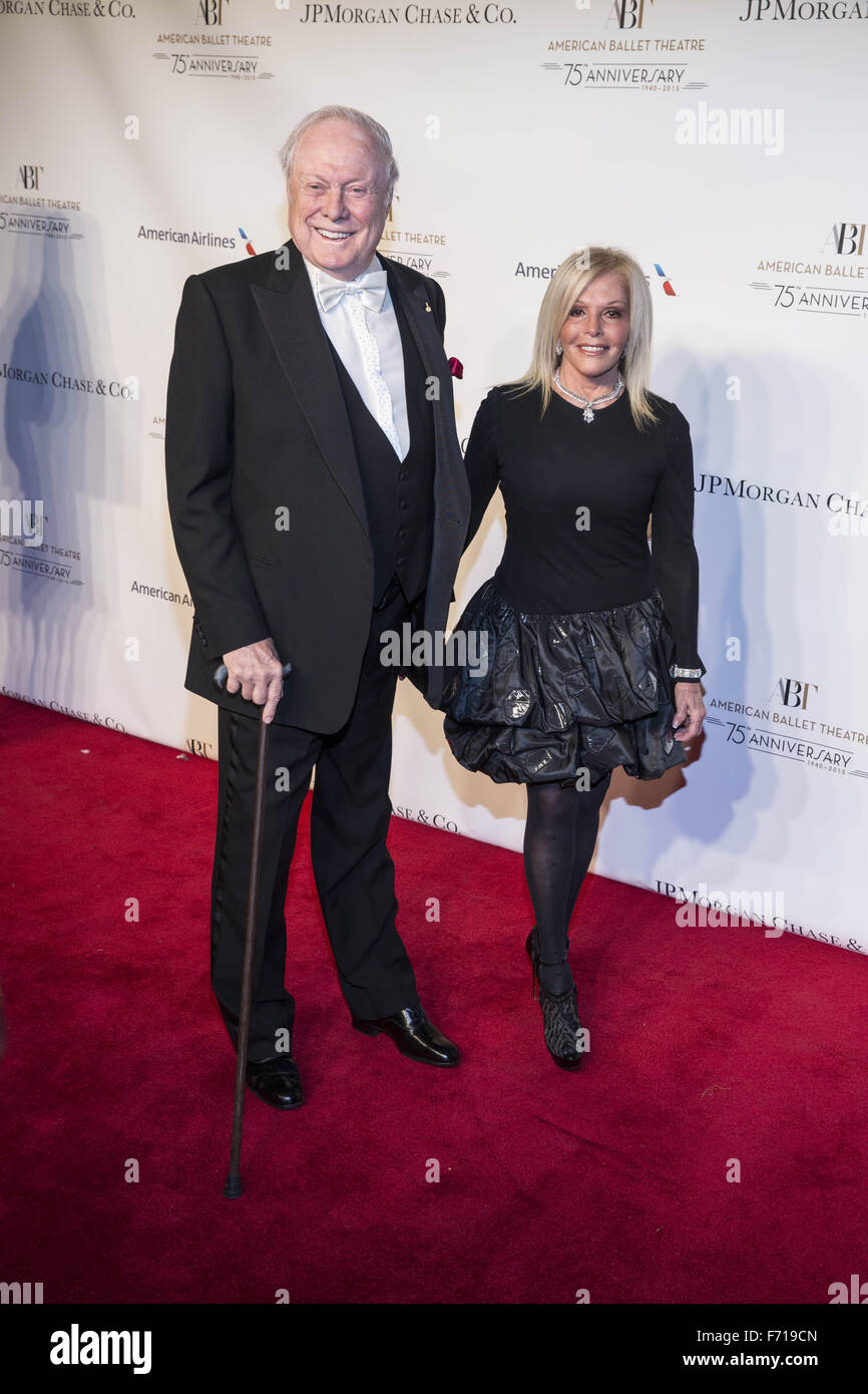 American Ballet Theatre's 75th Anniversary Fall Gala  Featuring: Sir Thomas Moore Where: New York, New York, United - Stock Image