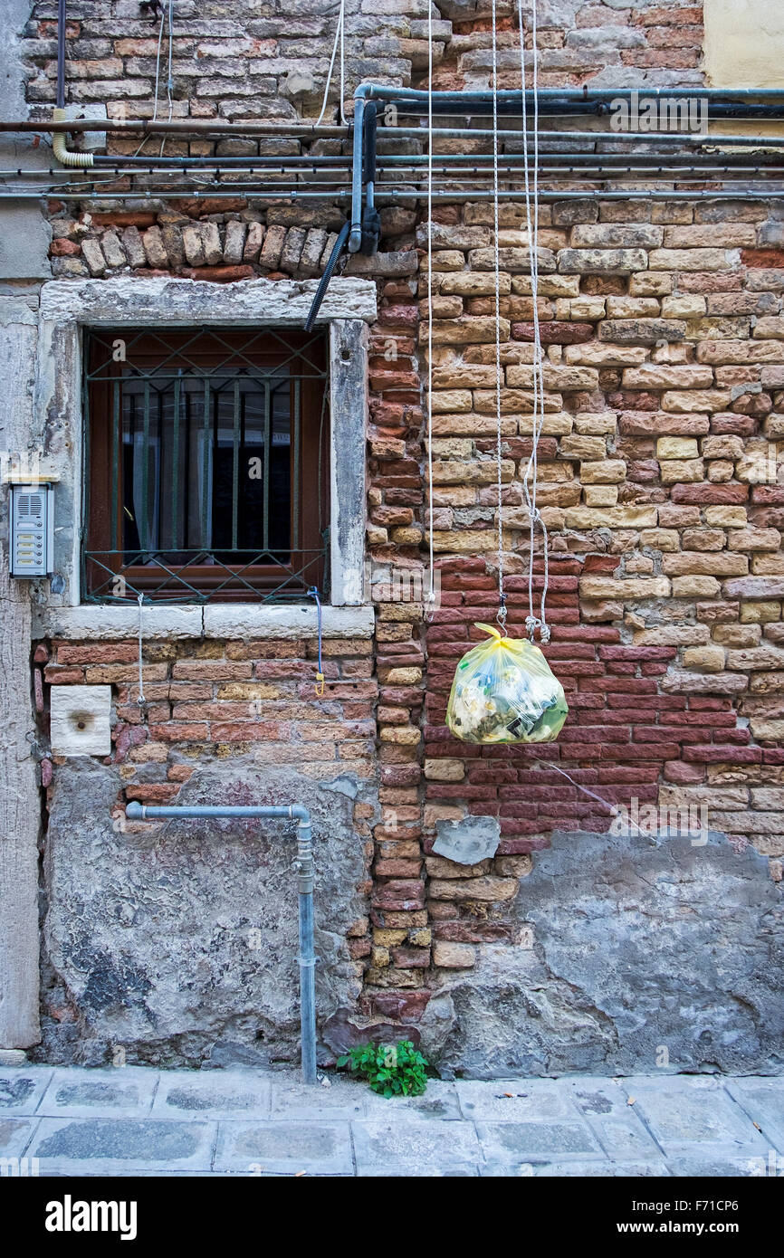 venice italy house exterior building detail window weathered brick rh alamy com Typical House Wiring Circuits Basic House Wiring Diagrams