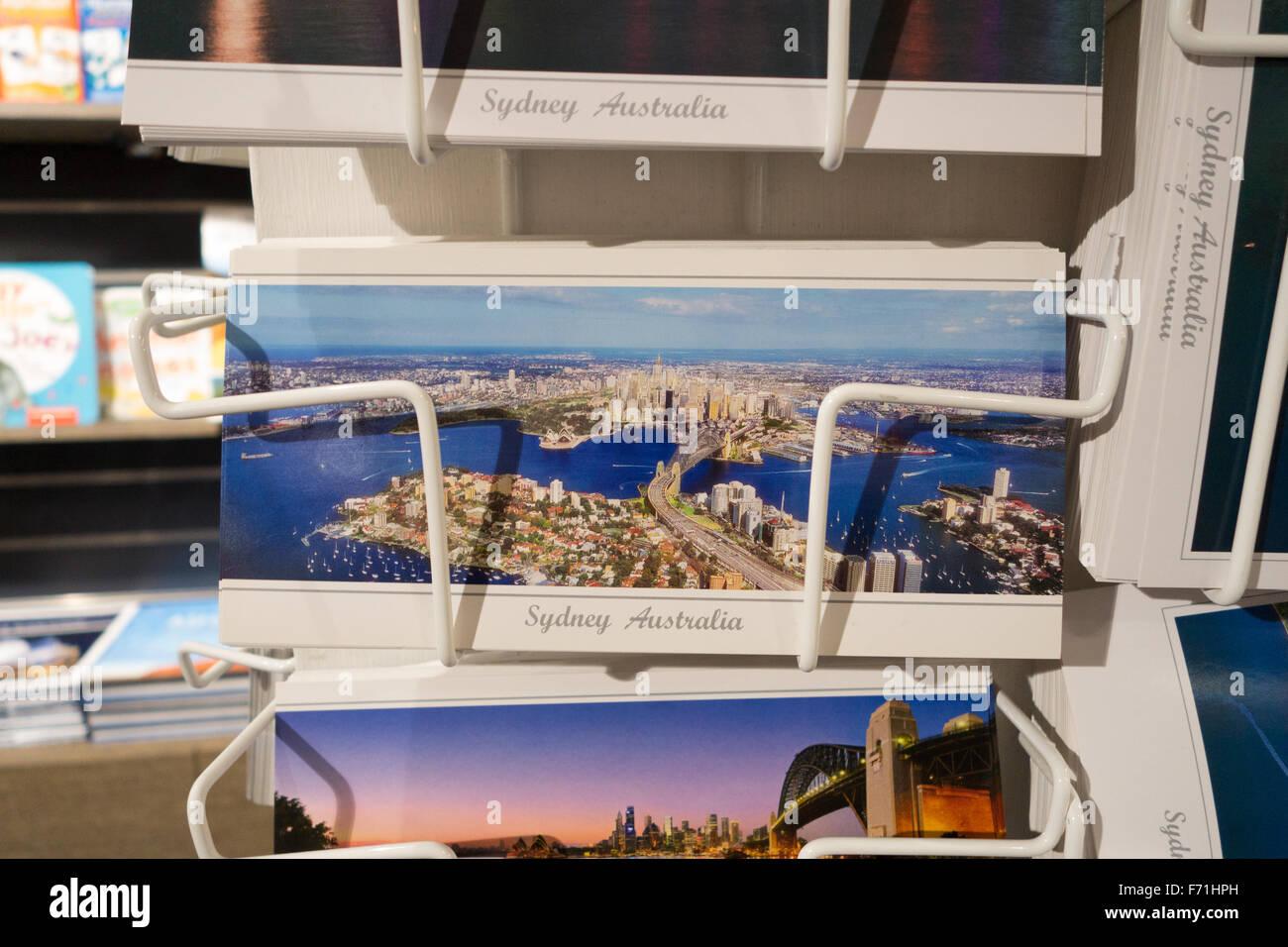 Australia postcards - Stock Image