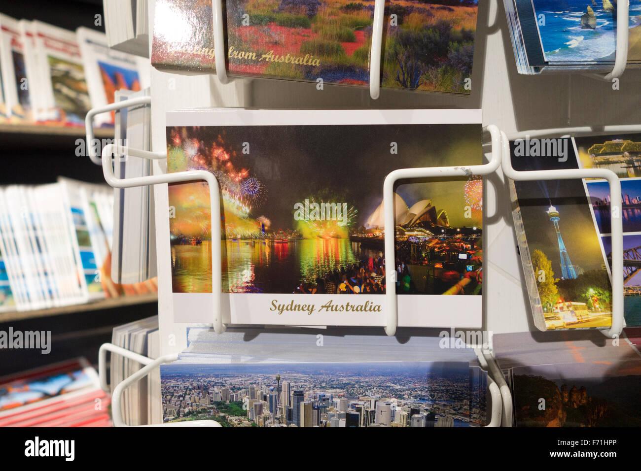 Sydney postcards - Stock Image