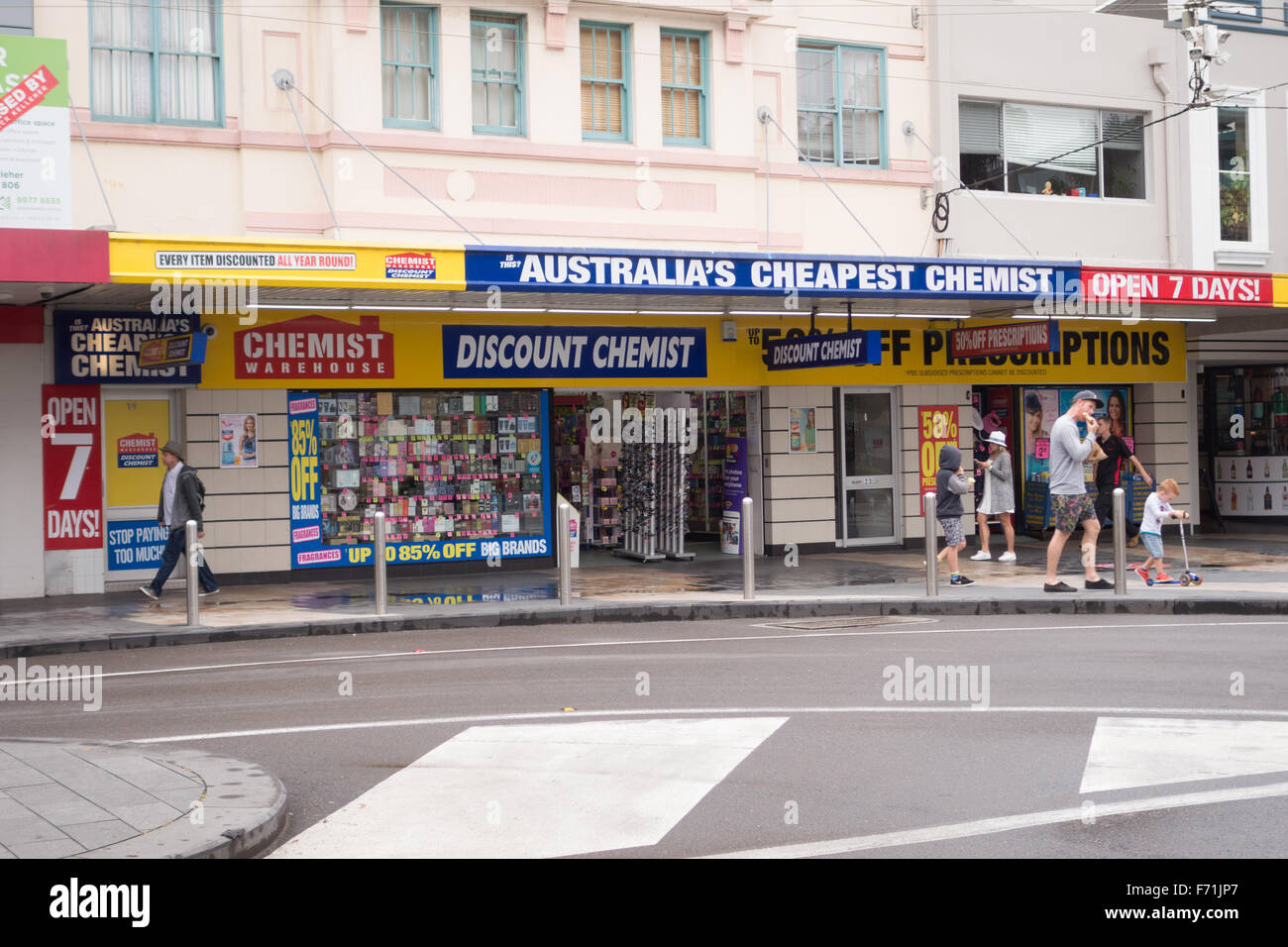 discount chemist Australia - Stock Image