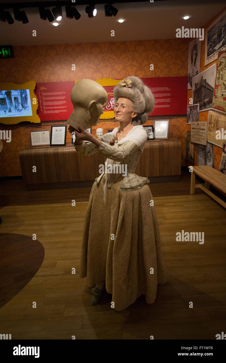 madame tussaud wax museum - Stock Image