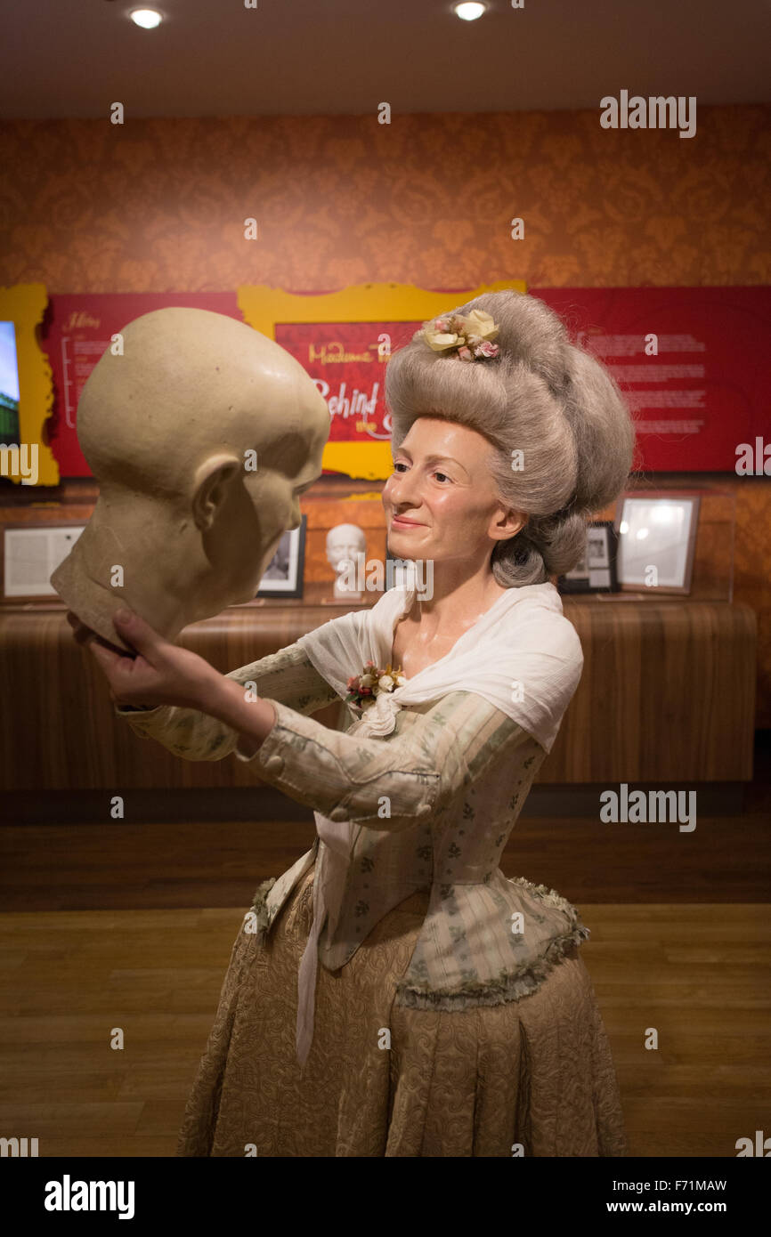 madame tussaud wax figure - Stock Image