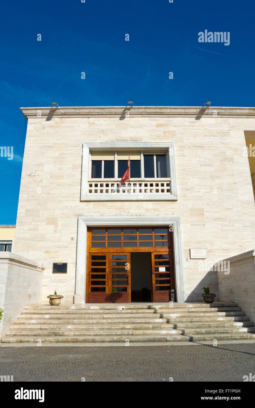 Muzeu Kombetar Arkeologjik, National Archaeological Museum, Tirana, Albania - Stock Image