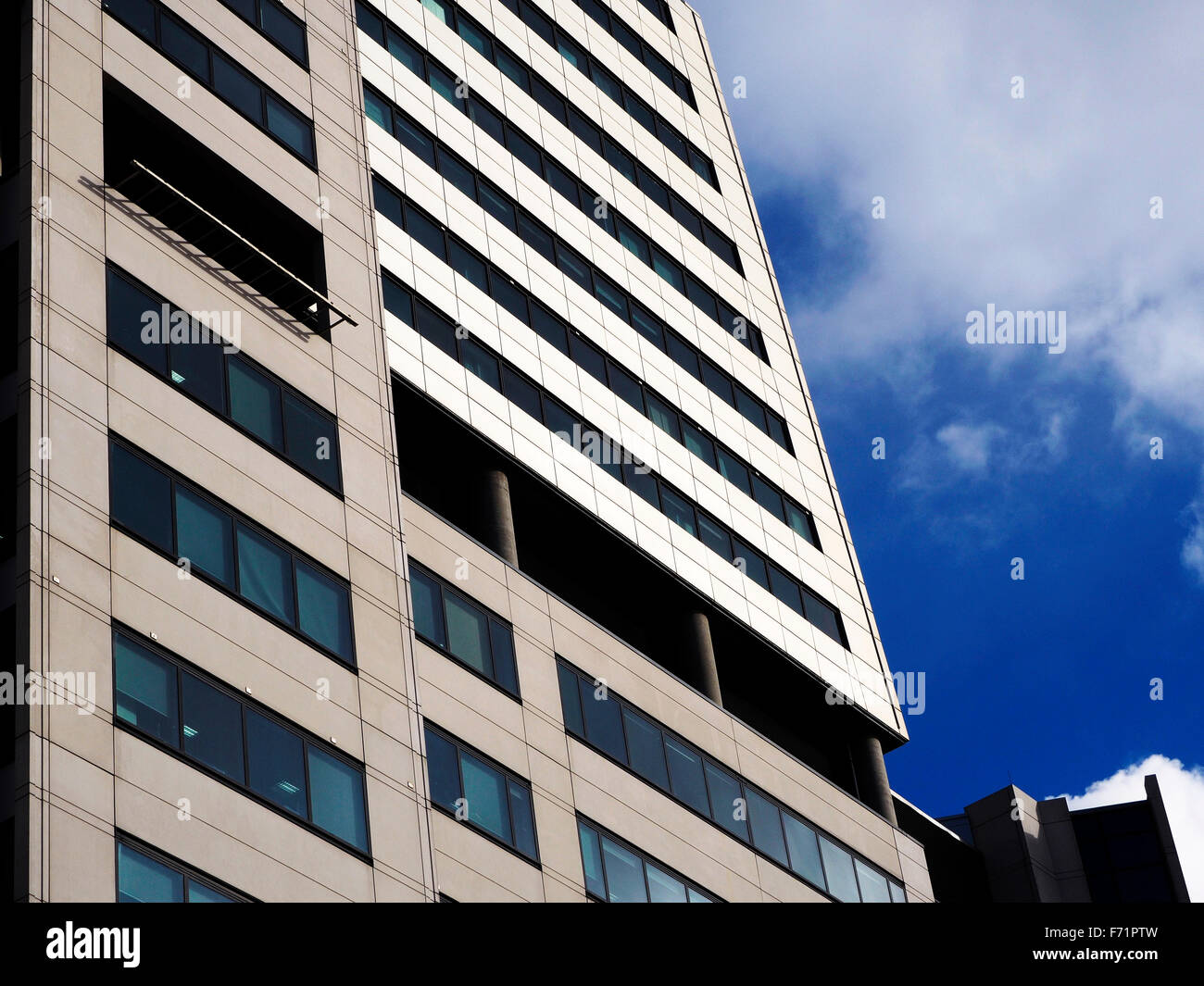 Bridgewater Place Office and Residential Skyscraper in Leeds West Yorkshire England - Stock Image