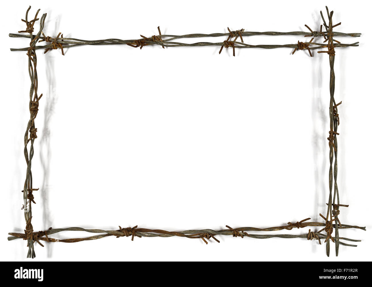 Made Of Barbed Wire Stock Photos & Made Of Barbed Wire Stock Images ...