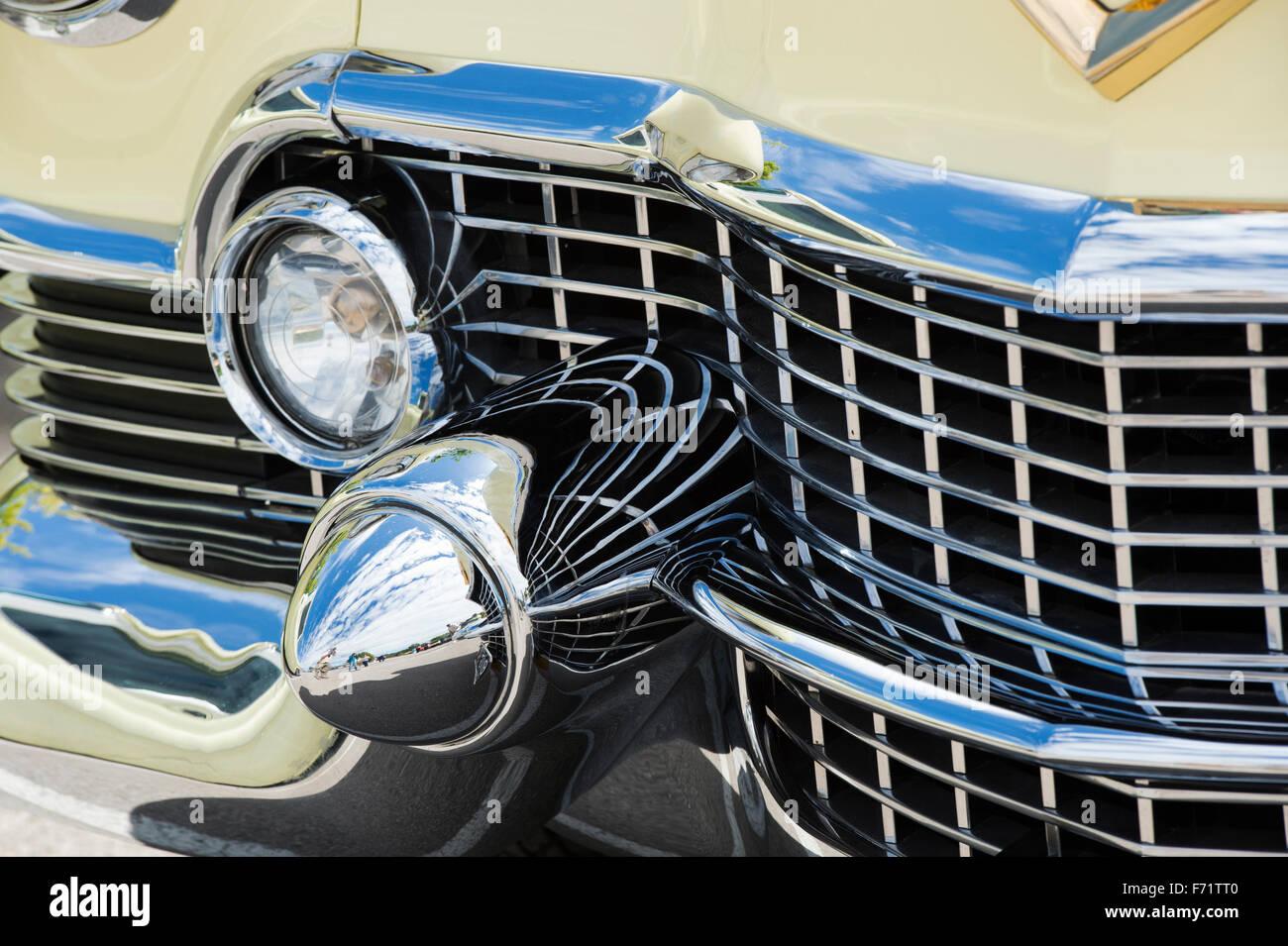 1954 Cadillac Eldorado Convertible Car Detail Stock Photo 90395872 El Dorado