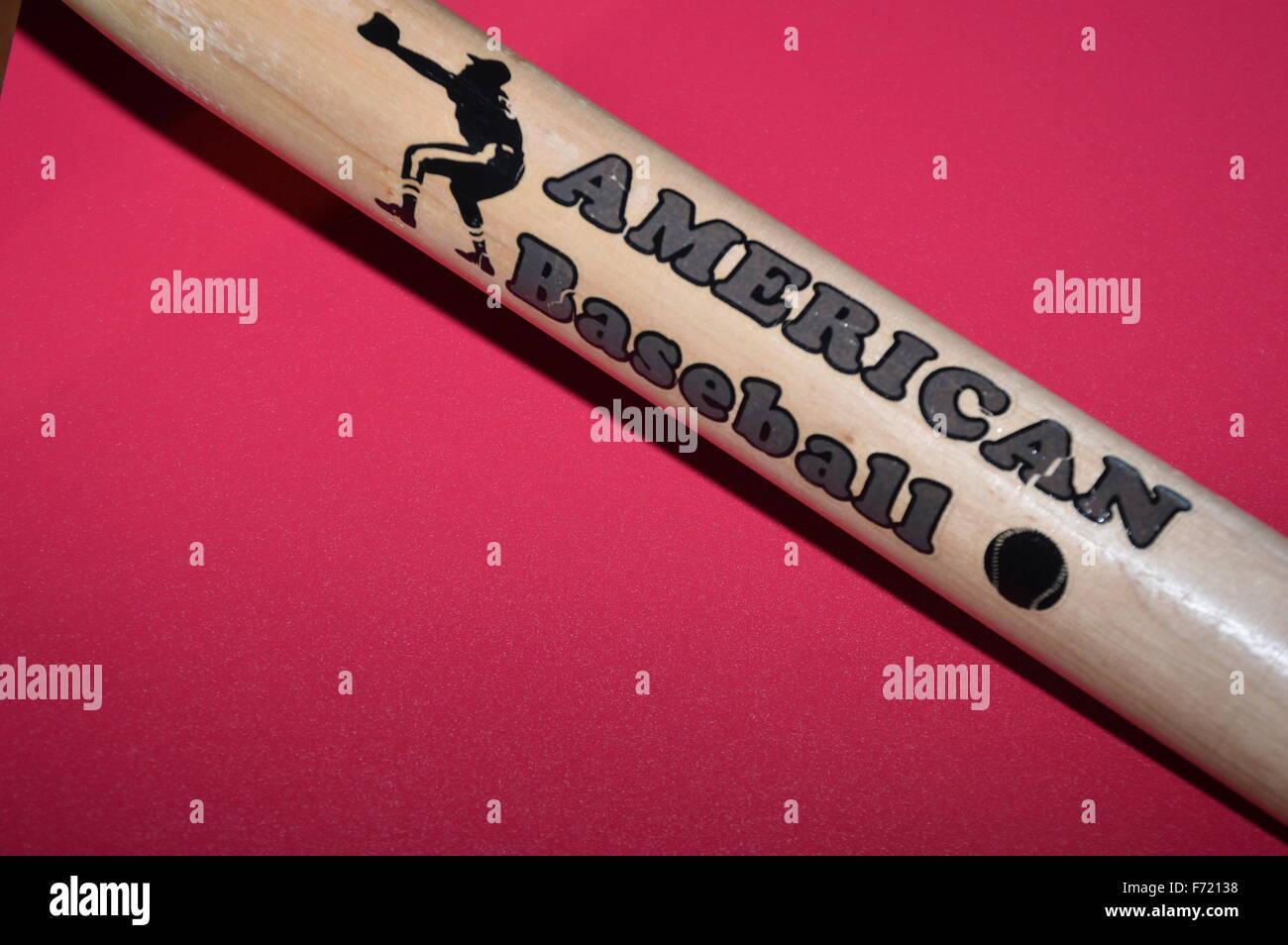 Baseball Bat - Stock Image