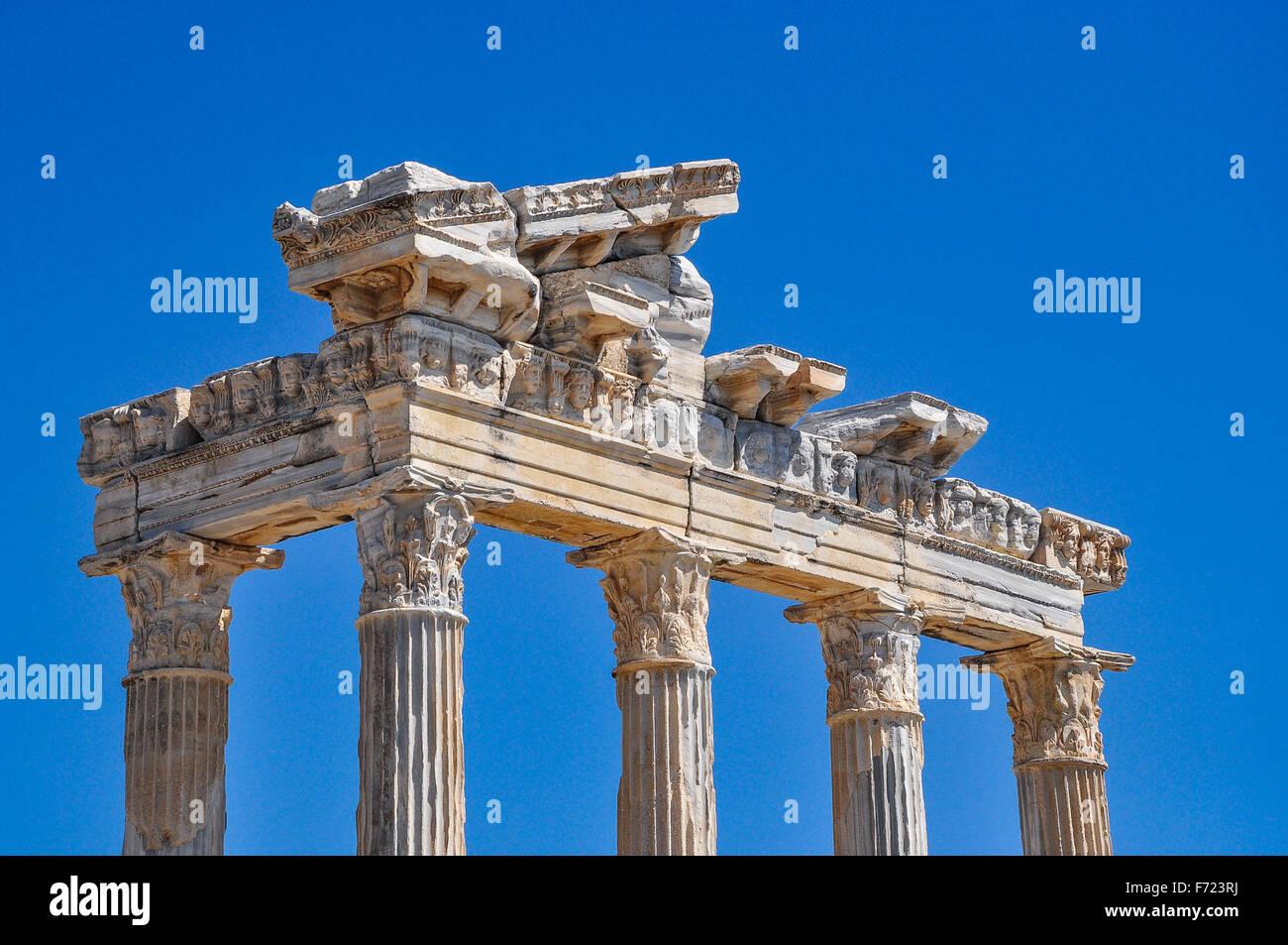 Apollo Temple in Side - Stock Image