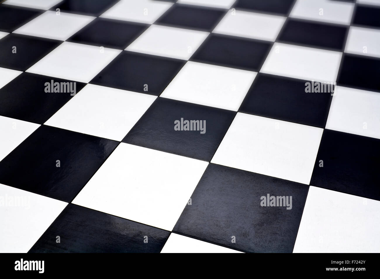 Close up image of chessboard - Stock Image
