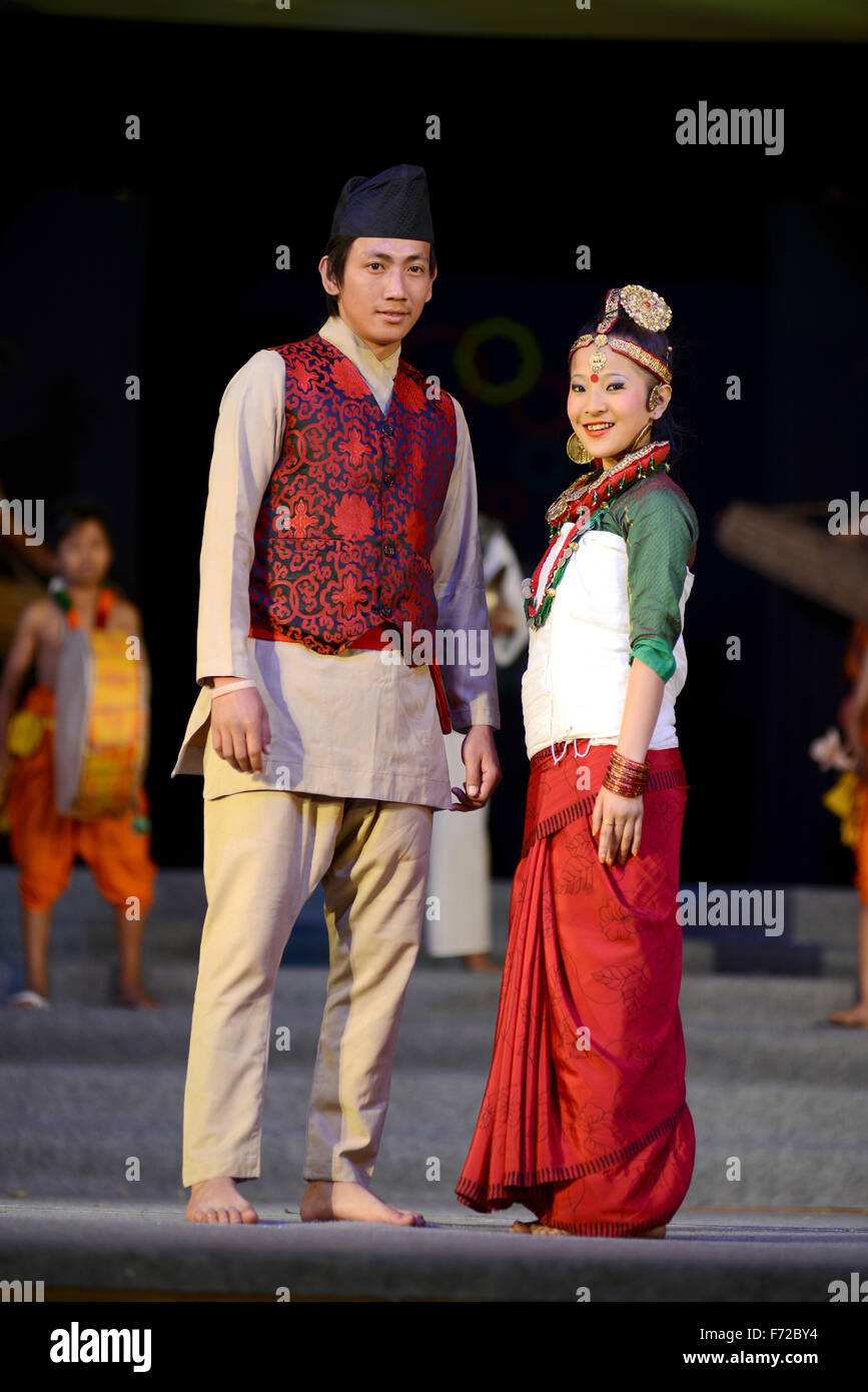 7a54ec4ce Couple wearing traditional dress, india, asia, mr#786 Stock Photo ...
