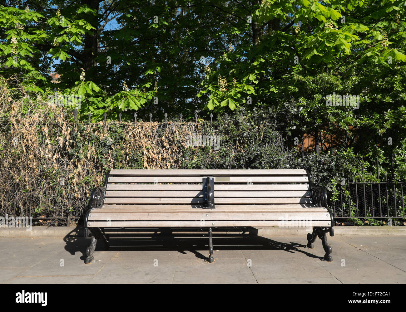 Street furniture in Brompton Road,Kensington,London Stock Photo