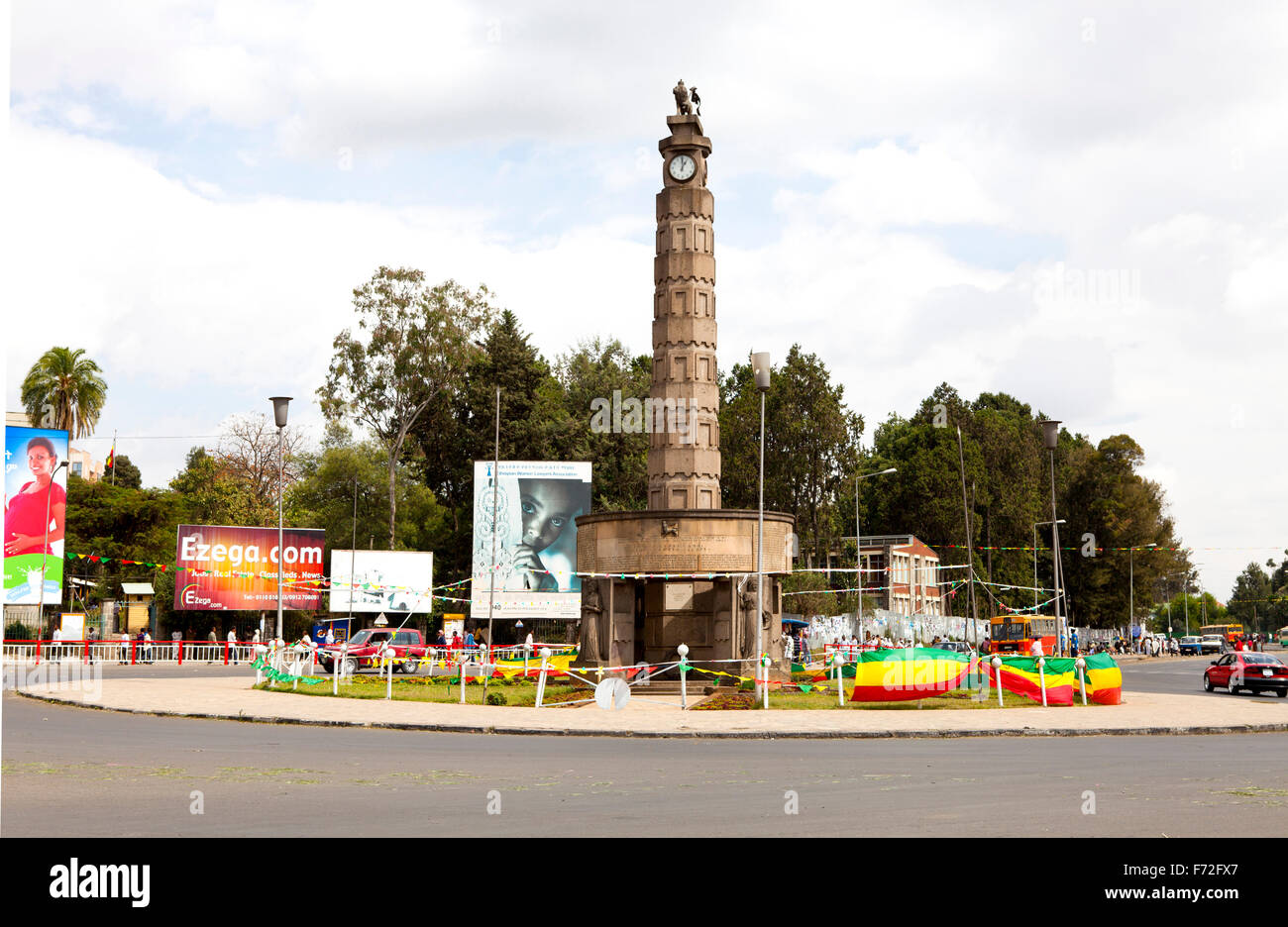 Arat Kilo Addis Ababa Ethiopia Stock Photos & Arat Kilo Addis Ababa
