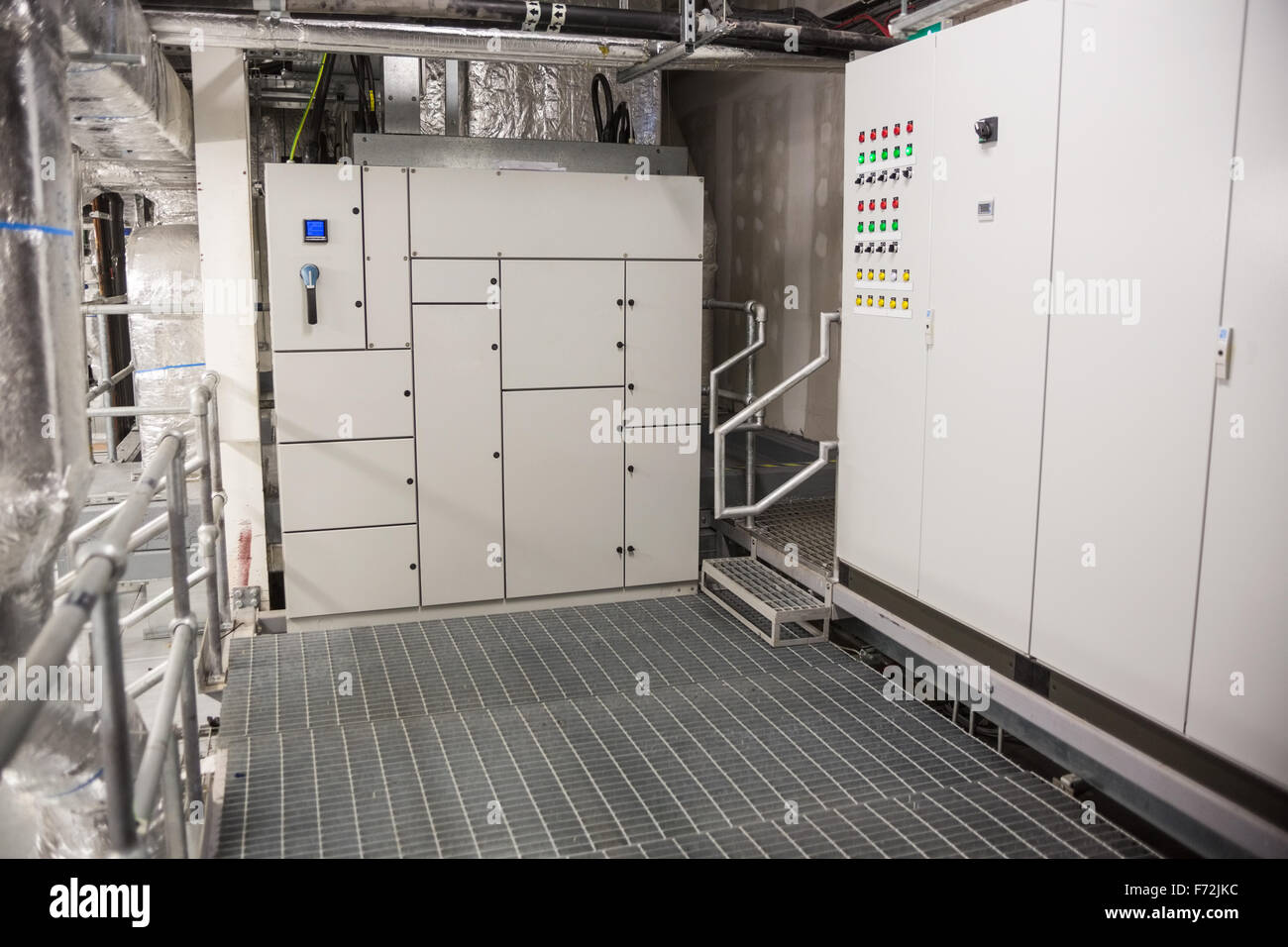 Temperature control room - Stock Image