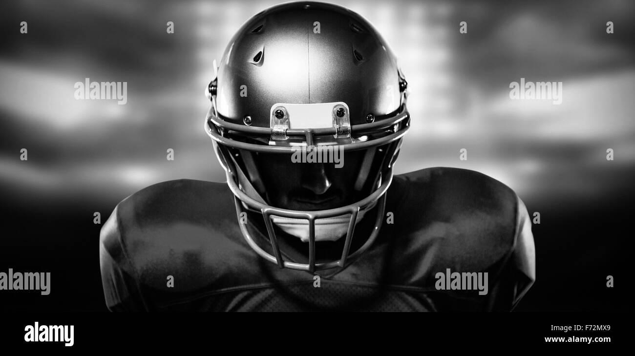 american football stadium black and white stock photos
