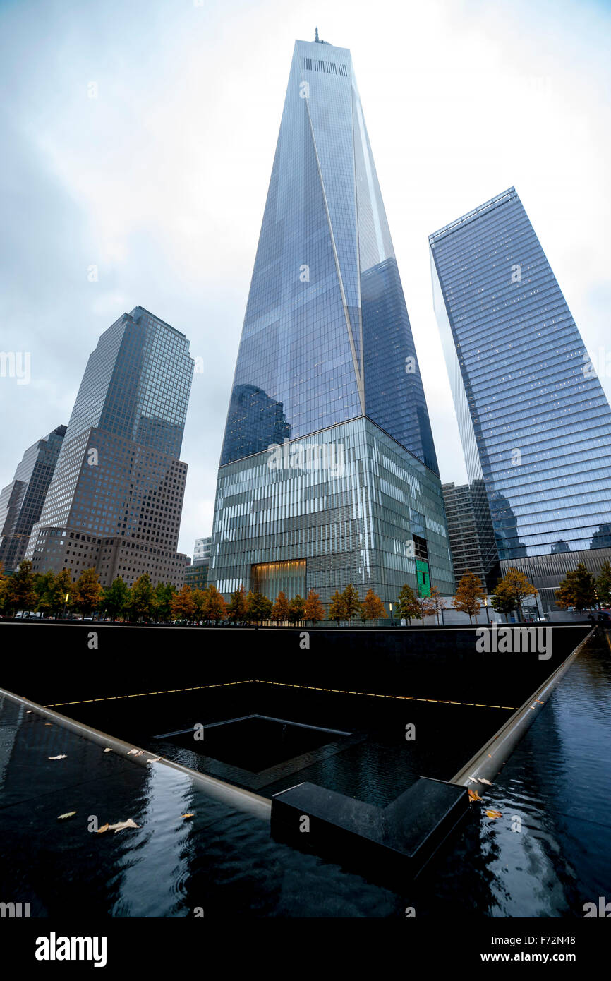 One World Trade Center, New York. - Stock Image