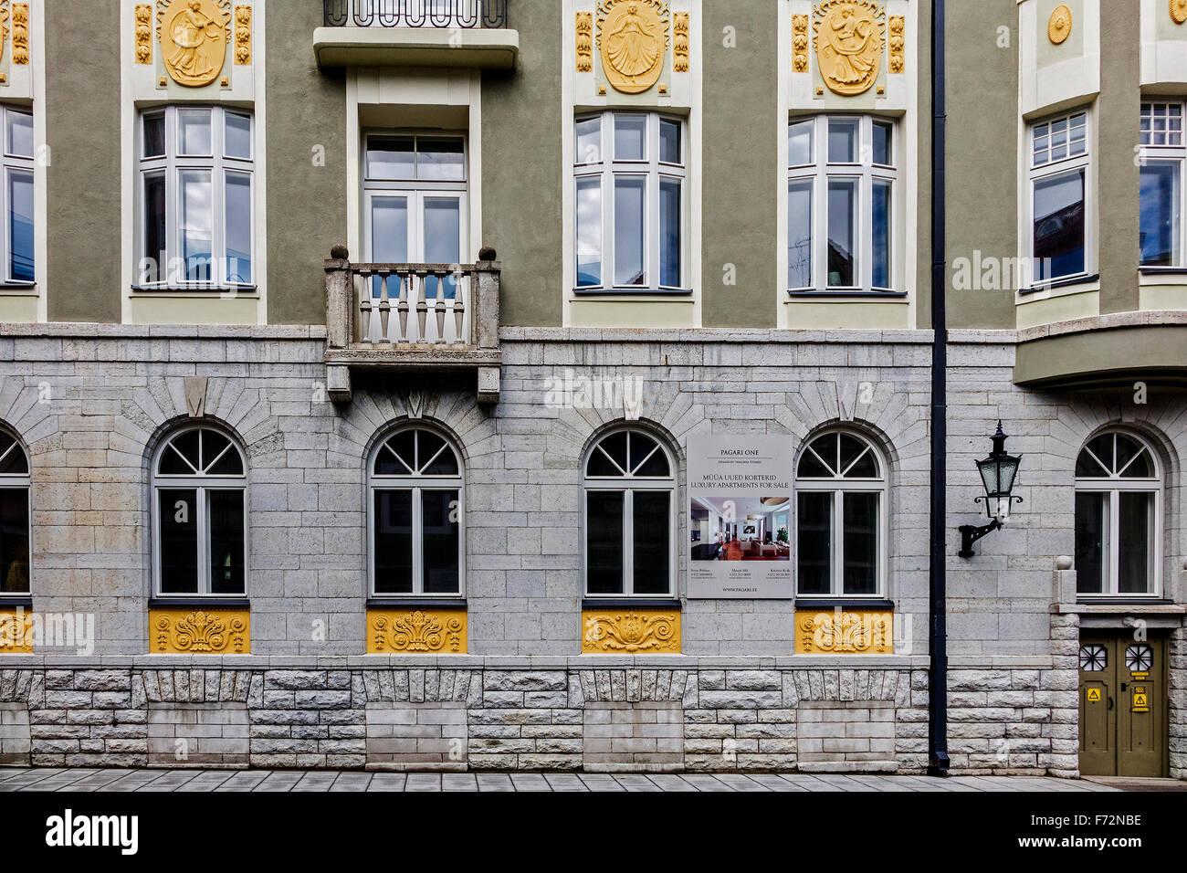 Old KGB Headquarters In Bricked Up Cellar Tallin Estonia - Stock Image