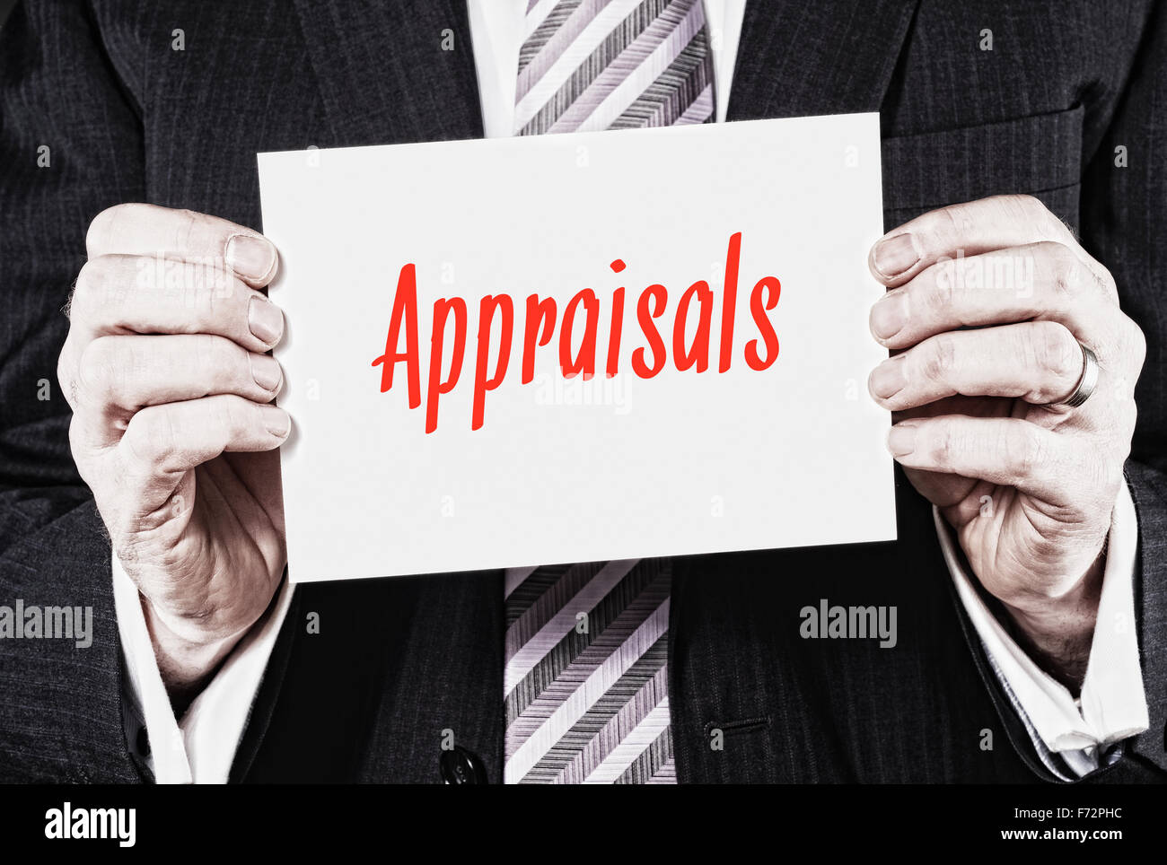 Appraisals, Induction Training headlines concept. - Stock Image