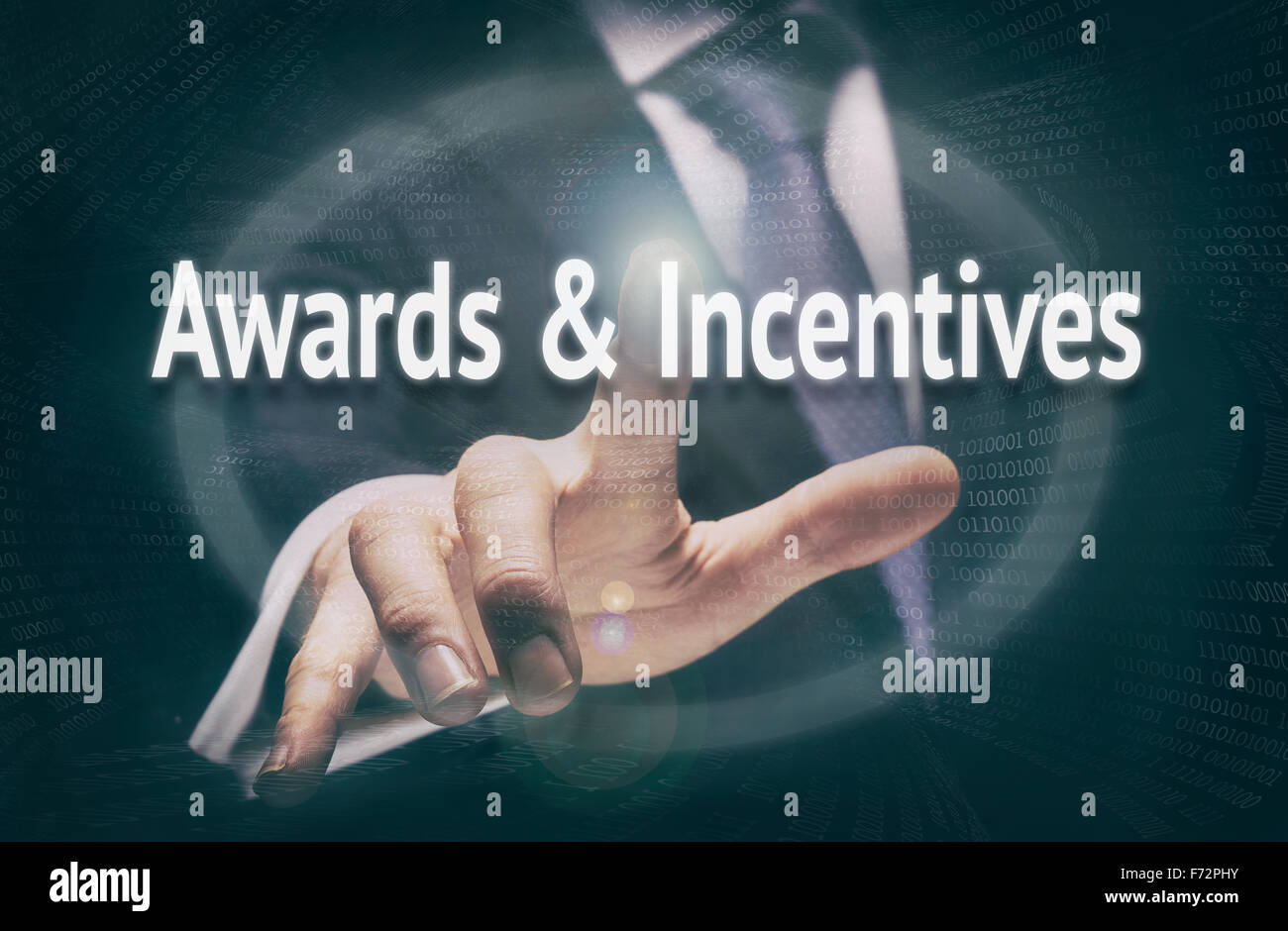 Awards & Incentives, Induction Training headlines concept. - Stock Image