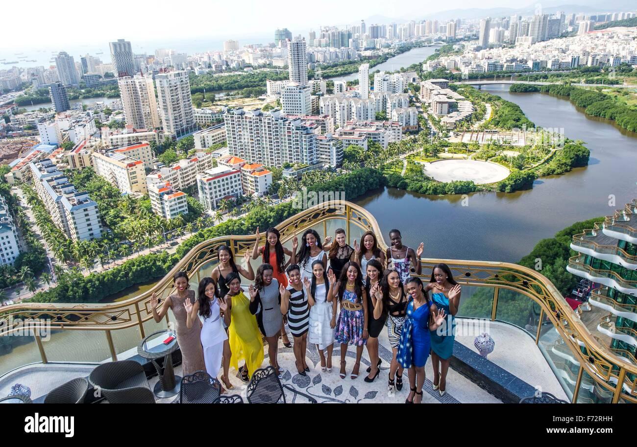Sanya, China's Hainan Province. 24th Nov, 2015. African ...