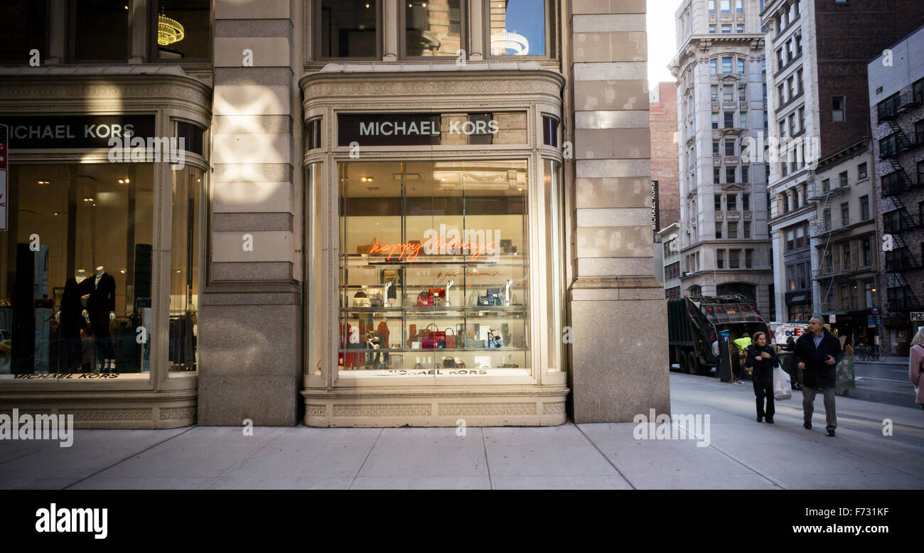 bb2212cf55d6 A Michael Kors store in New York on Fifth Avenue on Tuesday