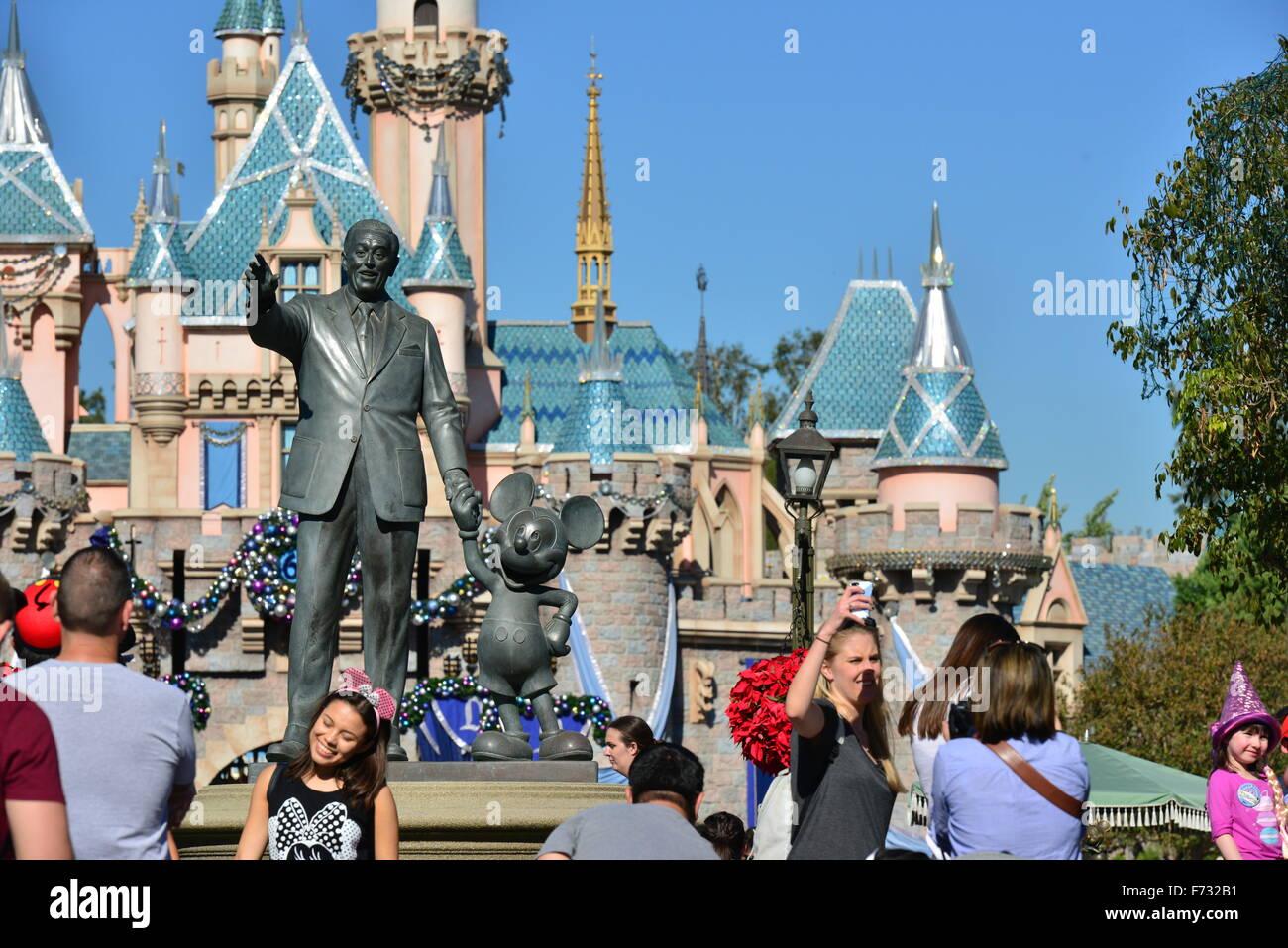 Disneyland Los Angeles Stock Photo