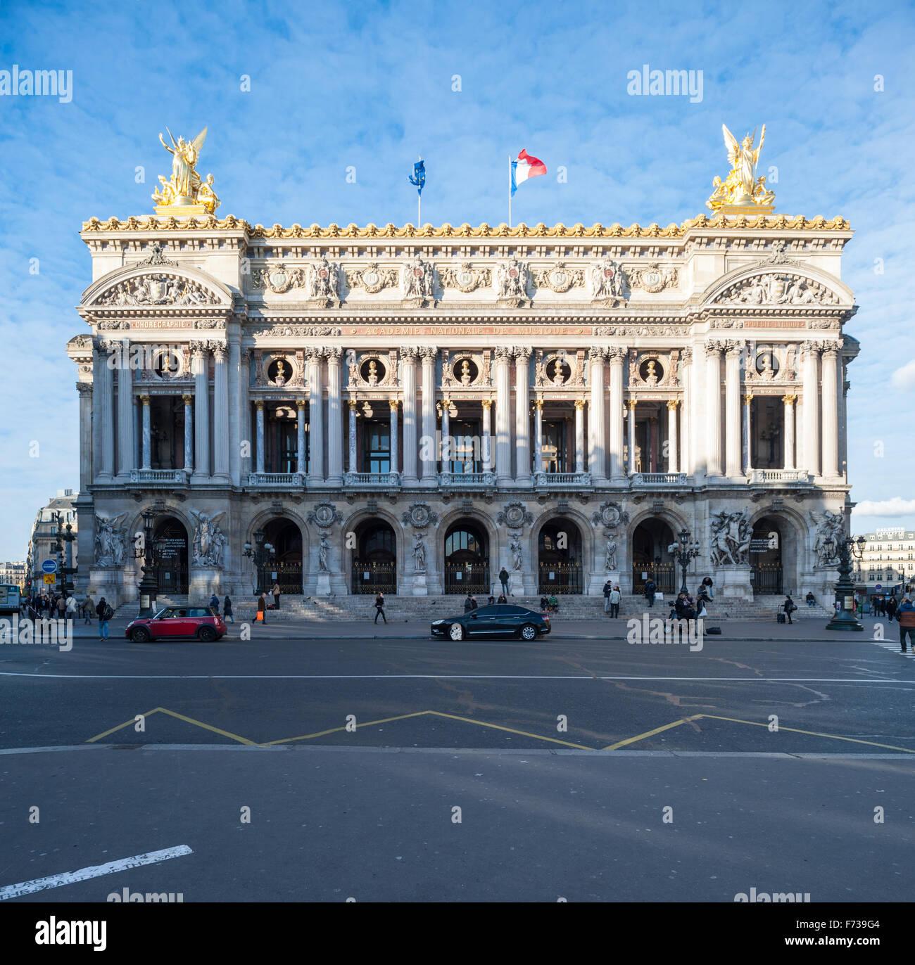 France, Paris, Palais garnier opera house - Stock Image