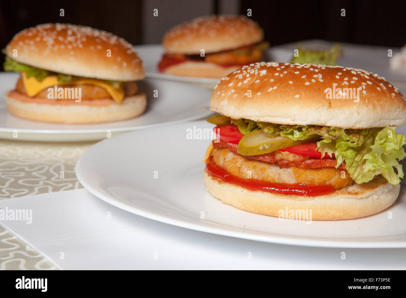 burger - Stock Image