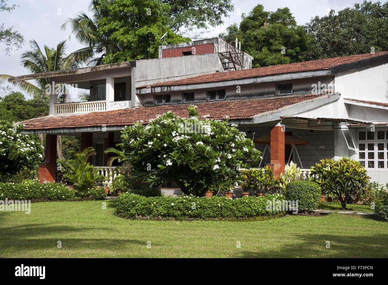 Farm house at panvel, maharashtra, india, asia Stock Photo