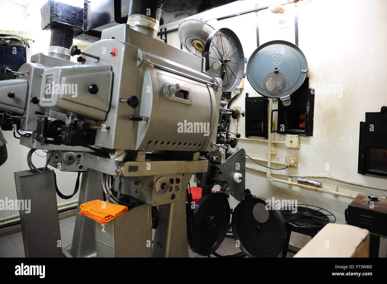 Cinema Theatre Projector High Resolution Stock Photography And Images Alamy